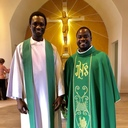 Father Emmanuel & Father Thierry Coovi